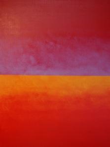 """Manfred Krautschneider - """"Open 16"""" 2017 oil on canvas"""